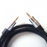 ROJACK1.5 - Cable 1 jack 3.5 mm - 1 jack 3.5 mm 1,5 mts