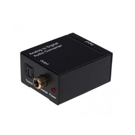ADC - Convertidor 2 RCA a Optico/Coaxial digital