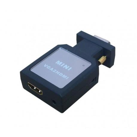 VS40 - CONVERTIDOR VGA + STEREO A HDMI