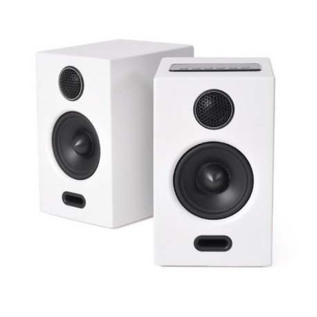 altavoces inalambricos bluetooth blanco