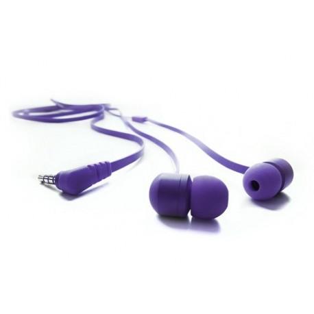 Degauss Labs - Auricular Stereo con micrófono Lila