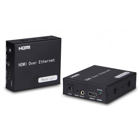 CAT-120- Extensor de señal HDMI por 1 CABLE ETHERNET (CAT 5/6)