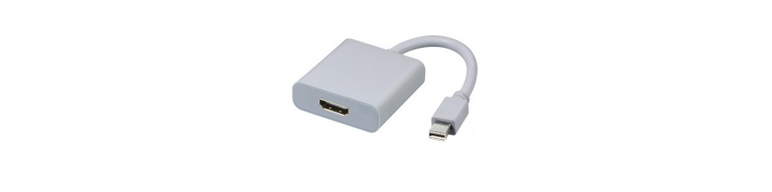Cables Mini DP (Display Port) a HDMI
