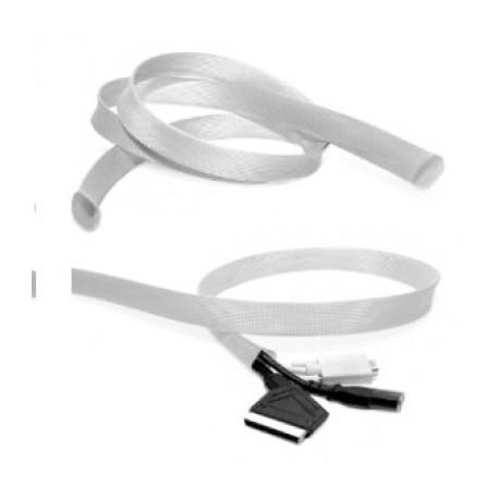 Malla ocultacables 2-4 cms c/Blanco (x metro)