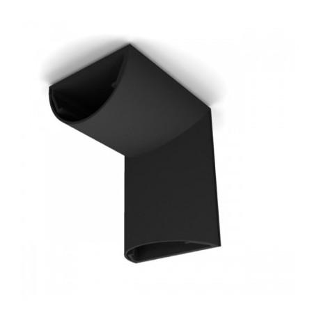 ATC33 N Angulo de techo. Ancho 3,3 cms. Color negro