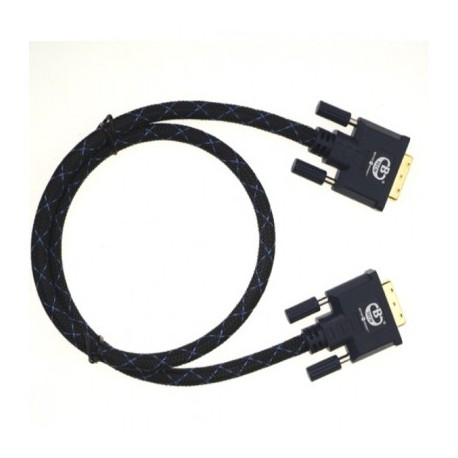 B-TECH - Cable DVI- DVI Longitud 0,8mts