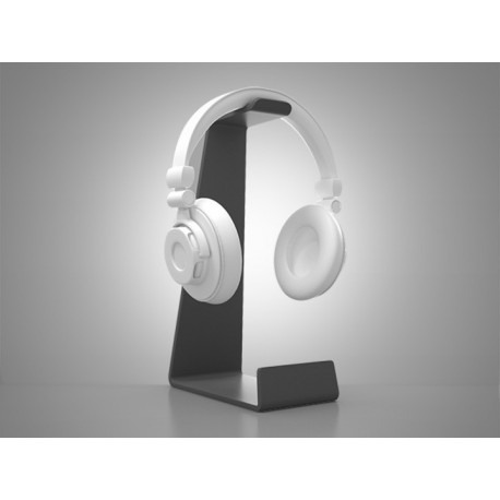 HEADSET TABLE - Soporte de sobremesa para auriculares. Color blanco.