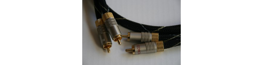 Cables 2 rca - 2 rca stereo